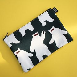 dancing bear pouch m