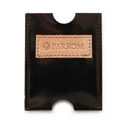PARROM 카드지갑 블랙