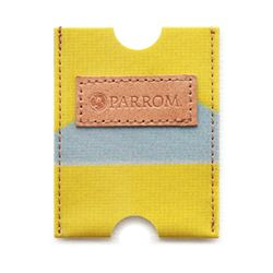 PARROM 카드지갑 옐로우