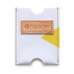 PARROM 카드지갑 화이트