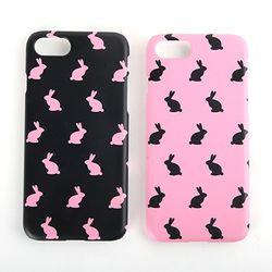 black pink rabbit 케이스 [갤럭시A8 2016]
