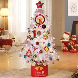 크리스마스트리 풀세트 솔트리 1.4M 파스텔 화이트