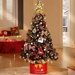 크리스마스트리 풀세트 1.35M 브론즈골드