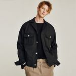 CLASSIC COTTON JACKET (BLACK)