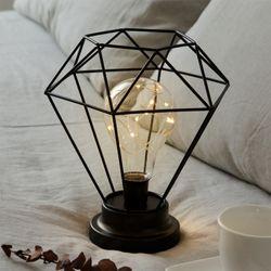 스파클링 LED 무드등 [블랙] (건전지타입취침등)