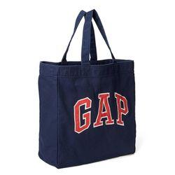 갭 GAP 아플리케 토트숄더백 가방 520451 01 네이비