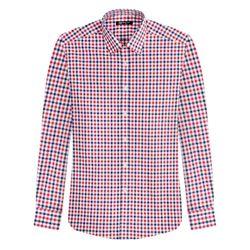 레귤러테터솔 체크 패턴 삼색 셔츠DWL5-23