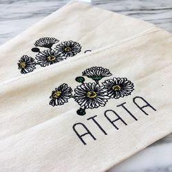 아타타 꽃 파우치 + 꽃 필통 기획 세트 상품