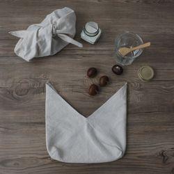 린넨 솔리드 패브릭 버킷  M size (2color)
