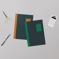 손으로 쓰고 영수증 붙이는 간편장부 B5 5권 세트