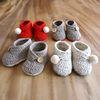 2세트 램스울 아기 신발 세트 DIY