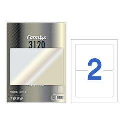 레이져 광택라벨(LB-3120100매2칸폼텍)