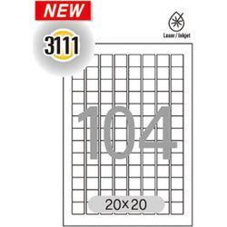 분류표기용 라벨(LQ-311120매104칸한국폼텍)