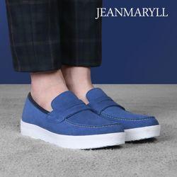 [장마릴]신발구두남성캐주얼컴포트화 JM010 블루