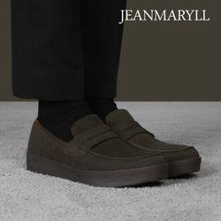 [장마릴]신발구두남성캐주얼 JM010 카키브라운