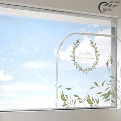 알뜨리 고급형 방풍비닐 올리브 창문용 소