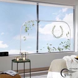 알뜨리 고급형 방풍비닐 올리브 창문용 200
