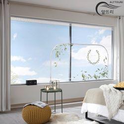 알뜨리 고급형 방풍비닐 올리브 창문용 300