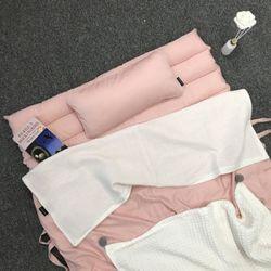 러브 미 모달 낮잠이불세트-핑크