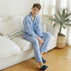 쁘띠쁘랑스노우루돌프 기모 남성잠옷