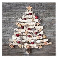 패브릭 포스터 S045 크리스마스 나무 트리 [대형]