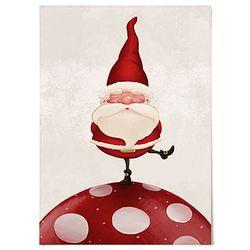 패브릭 포스터 F137 장식 크리스마스 산타 [대형]