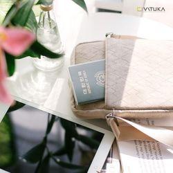 바투카 밀퍼드 크로스백  여권가방 - Small