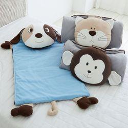 어린이집 일체형 낮잠이불 세트(3종 택1)