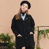 cobalt signature coat (black)