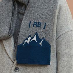 blue mountain muffler (gray)
