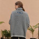 RE signature lambs wool knit (gray)