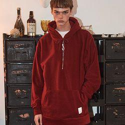 Crump fleece half zipup hoodie (CT0114-3)