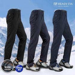 스판 남자 겨울 네이비 등산 바지LM-2
