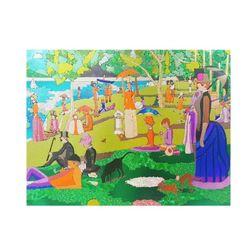 키난빌 마스터 피스(그랑드 자트 섬의 일요일 오후)