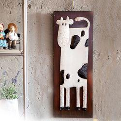 J2-1 젖소 철재 벽장식