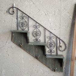 J2-5 계단 선반 벽장식