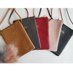 만원의 행복 여행용 지갑 핸드폰 보조 크로스 가방