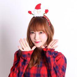크리스마스 패션 머리띠 (산타)