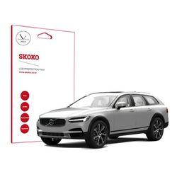스코코 볼보 V90 네비게이션 저반사 액정보호필름 2매