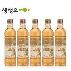 국내산 자연발효한 현미식초 5병