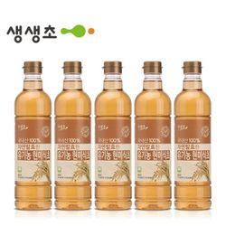 국내산 자연발효한 유기현미식초 5병