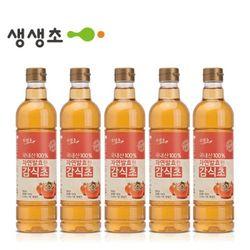 국내산 자연발효한 감식초 5병