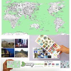 D map Green