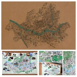 S map Vintage