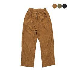 Over Corduroy Wide Pants(3color)(unisex)