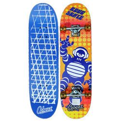 오즈보즈 스케이트보드 블루로봇