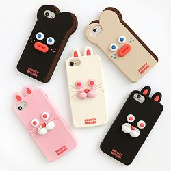 Brunch Brother 실리콘 케이스 for iPhone 6 6S 7 8