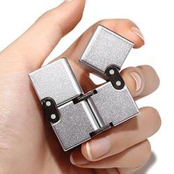 인피니티 매직 큐브 메탈 피젯 무한 스피너