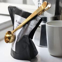 커피봉투 골드 메탈 집게페이퍼 클립 사무용 인테리어