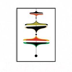 예쁜 거실그림액자 인테리어 포스터 현대미술 [중형]